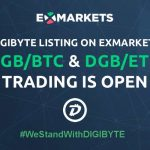 DigiByte (DGB) All Set to Be Listed on ExMarkets Exchange