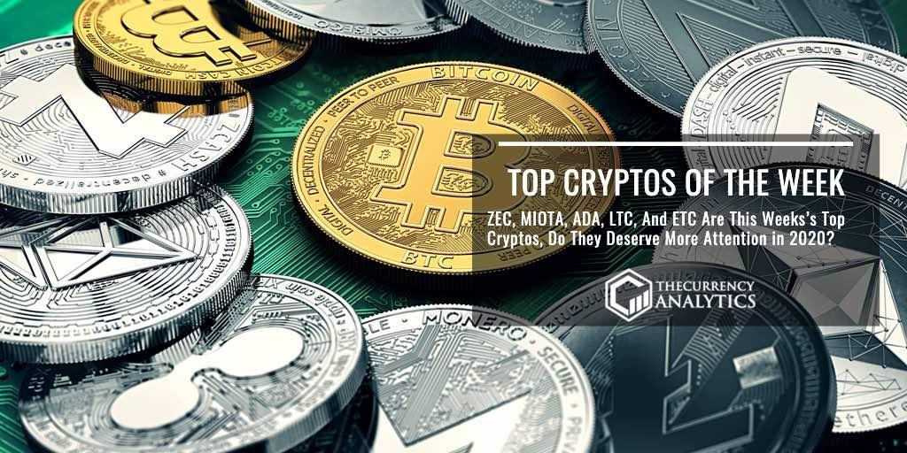 top cryptos of week