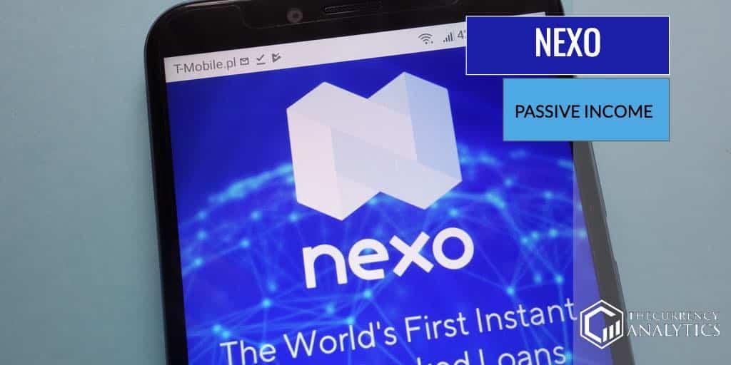 Nexo cryptocurrency passive income