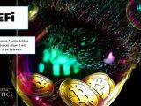 Defi crypto bubble burst