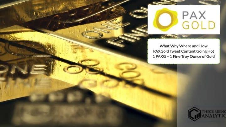 PaxGold PAxG gold