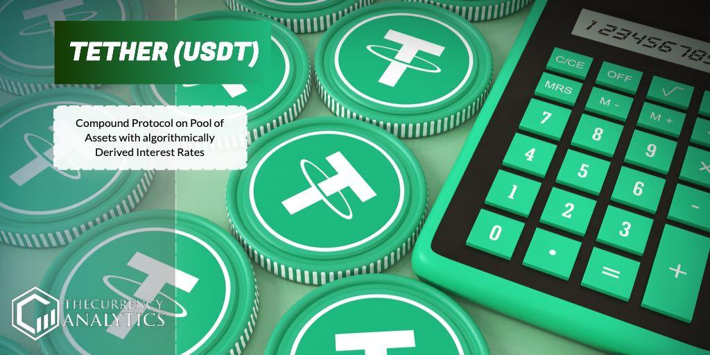 Tether USDT pool of assets