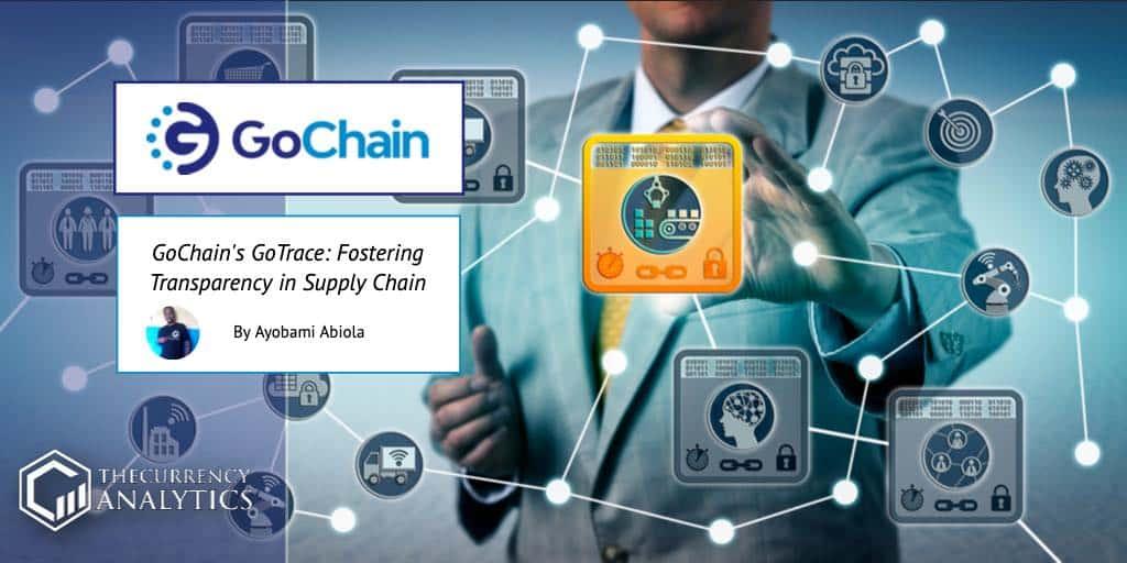 GoChain GoTrace supply chain