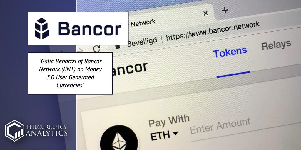 bancor Network BNT Galia Bernartzi