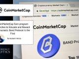 CoinMarketCap Band Protocol Earn