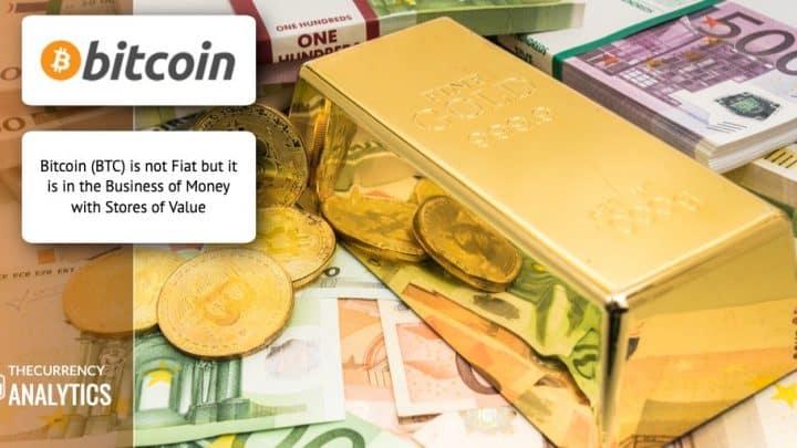 Bitcoin BTC Gold Bonds Fiat