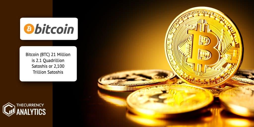 Bitcoin BTC Satoshis