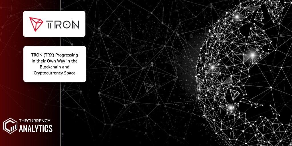 Tron TRX Cryptocurency Space