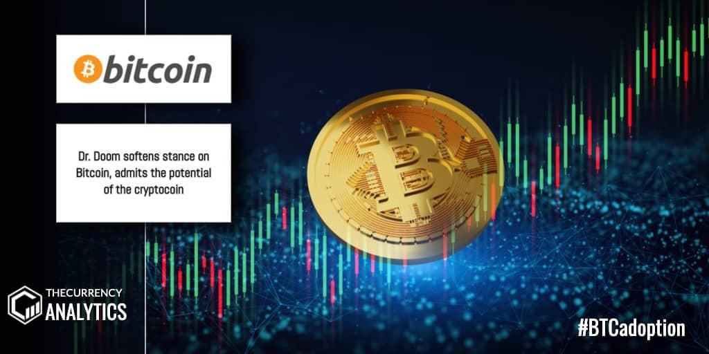 Bitcoin BTC Dr Doom CryptoCoin