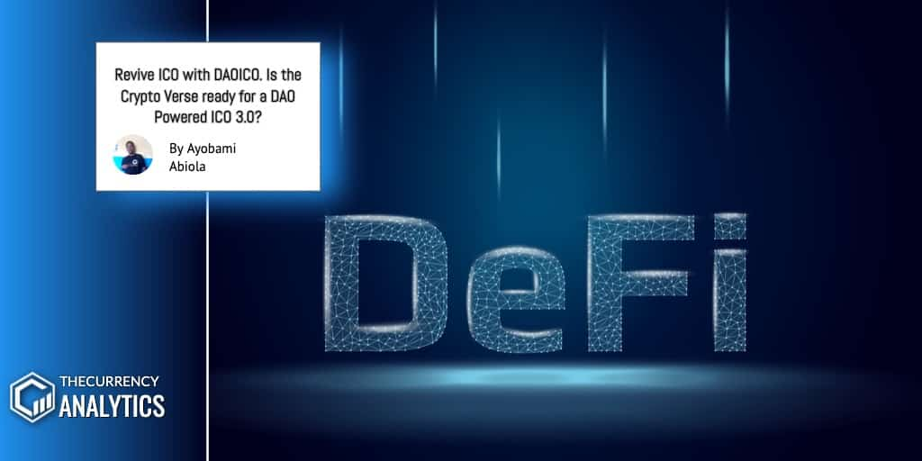Dao ICO Defi ICO3