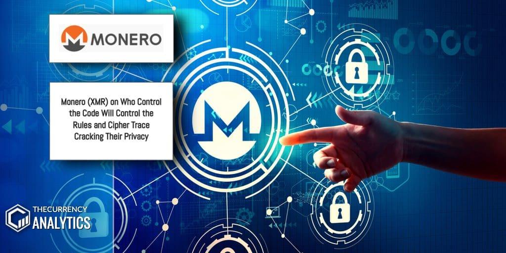 Monero XMR Cipher Trace