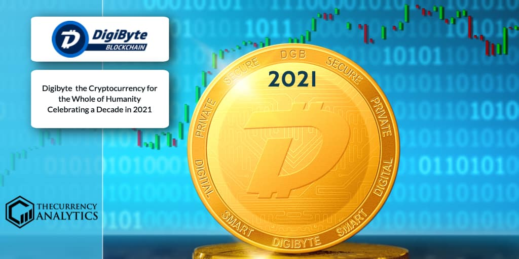 <bold>Digibyte</bold> (DGB) the Cryptocurrency for the Whole of Humanity Celebrating a Decade in 2021
