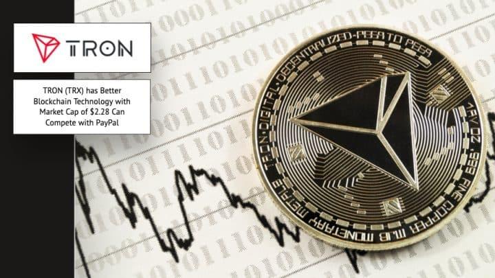 Tron TRX Blockchain PAypal